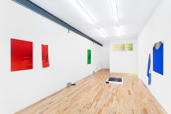 Anna-Sophie Berger, Anna-Sophie Berger, KE-17 JIGSAW / KE-03 LARGE PINKING / KE-24 SCALLOP / KE-16 POSTAL, Installation view, 2014