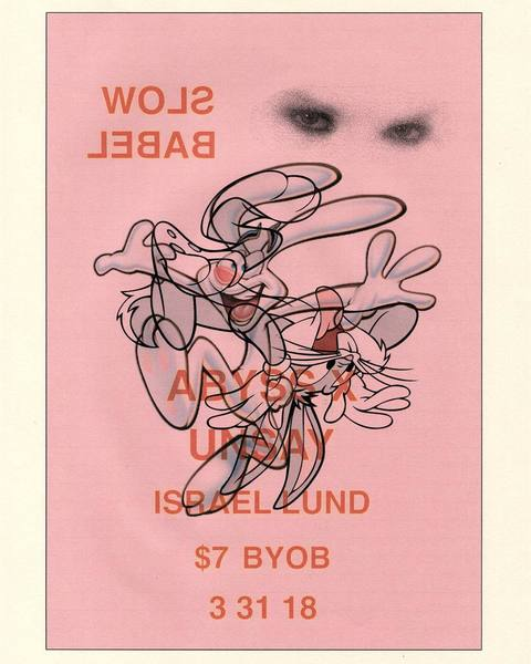 This Saturday! Limited space, DM for details Flyer by @spookybauhaus