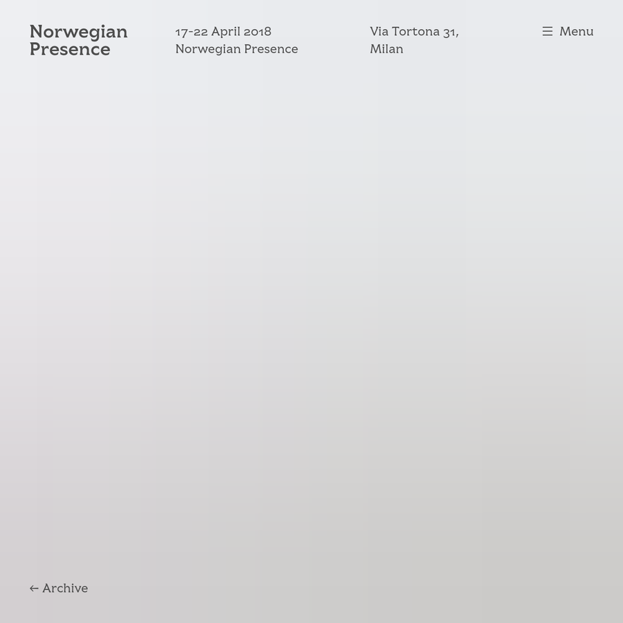 Curated with quality and sustainability at the forefront, Norwegian Presence 2018 explores how the Norwegian concept of fellesskap (community, fellowship and collaboration) shapes the country's modern creative culture and drives makers and manufacturers alike.
