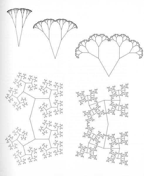 Mandelbrot, Benoit, _The Fractal Geometry of Nature_ [1977] (San Francisco: W. H. Freeman and Company, 1982), p. 155.
