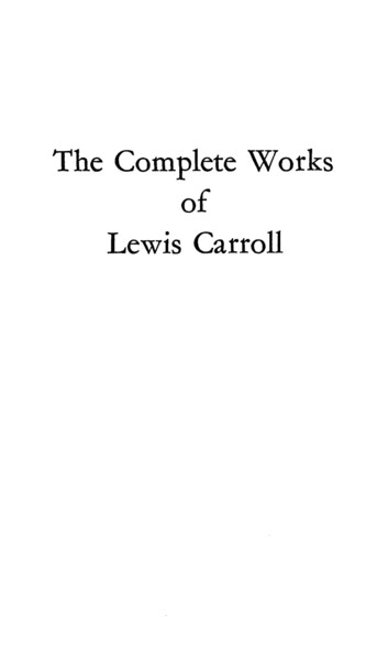 Lewis Carroll - Complete Works PDF