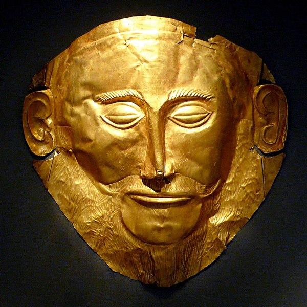 https://en.wikipedia.org/wiki/Mask#/media/File:MaskOfAgamemnon.jpg