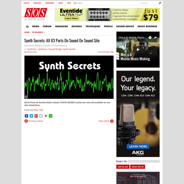 Synth Secrets
