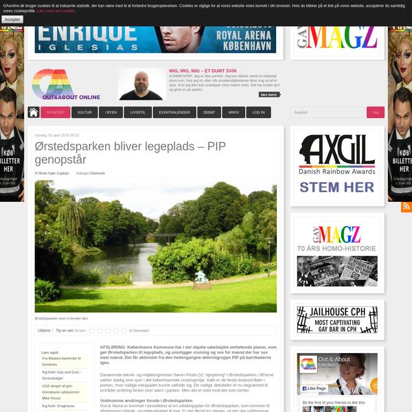 Ørstedsparken bliver legeplads - PIP genopstår