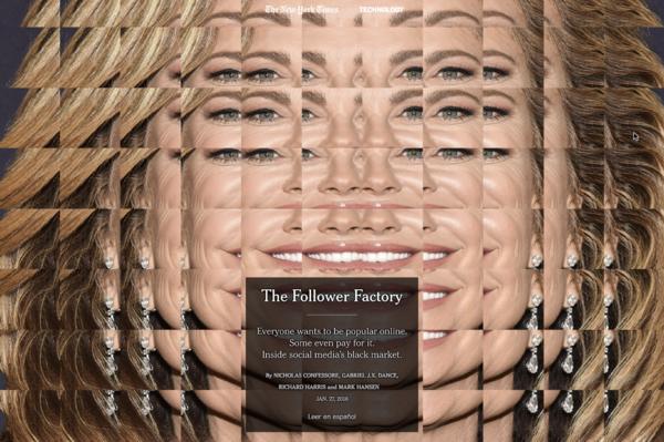 Adam Ferriss, New York Times, Follower Factory
