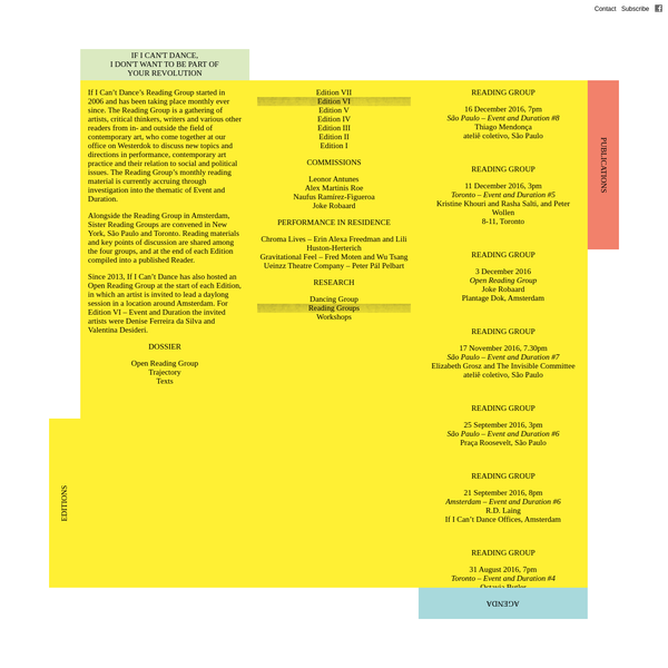 IICD - Reading Groups