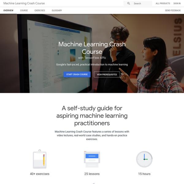 Machine Learning Crash Course | Google Developers