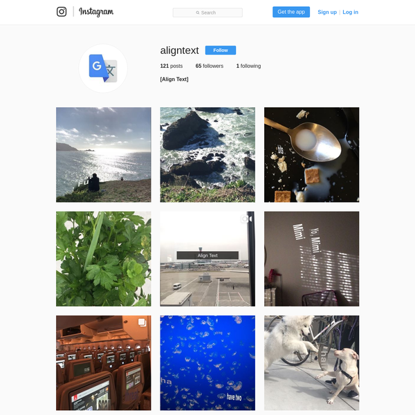 65 Followers, 1 Following, 121 Posts - See Instagram photos and videos from [Align Text] (@aligntext)