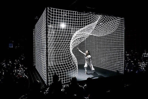 "Tonight @artbasel experience a true 21st-century immersive performance piece - Hakanaï Miami 2017 by Adrien M & Claire B - a 3D digital journey of dance by previewing a 40-minute performance followed by an interactive session ""Experience the Cube"" 