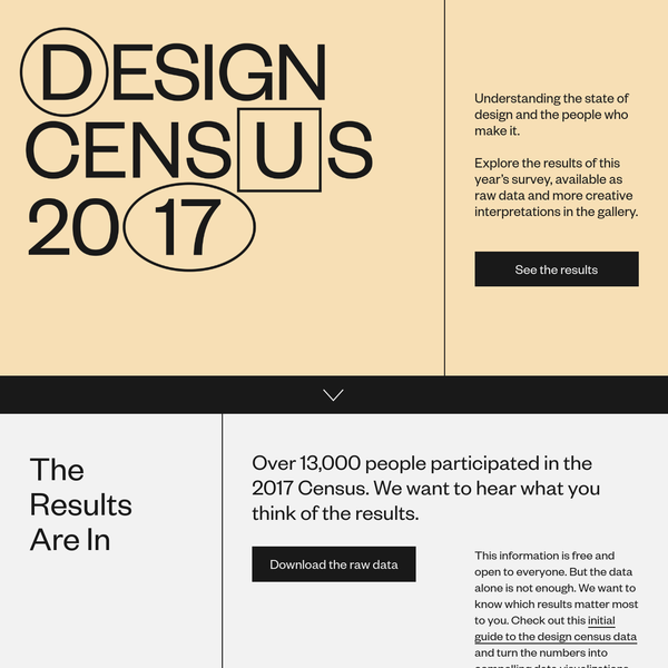 Design Census 2017