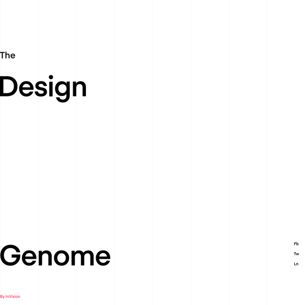The Design Genome Project