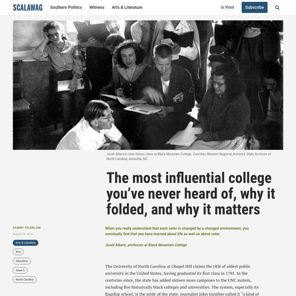 The most influential college you've never heard of, why it folded, and why it matters