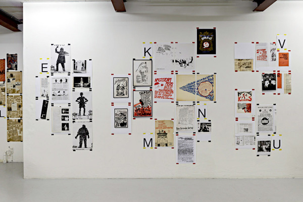 Experimental Jetset – Two or Three Things I Know About Provo (Installation views from W139 edition, Amsterdam (2011) and Brno Biennial edition (2012)