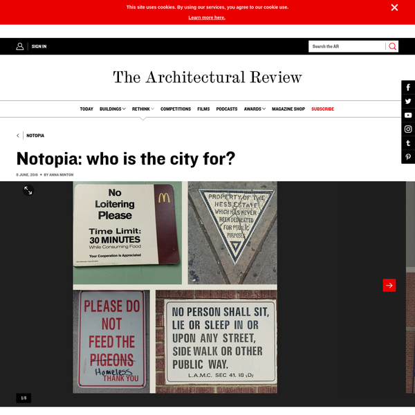Notopia: who is the city for?