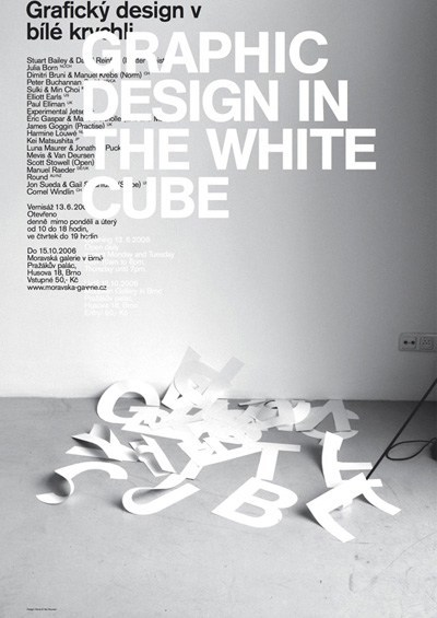 Exhibition_Graphic design in the white cube
