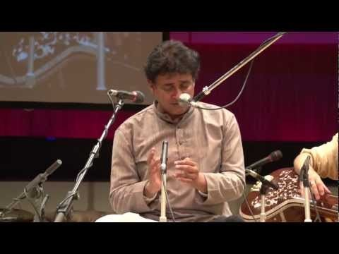Dhrupad of the Dagar Tradition - Alap and Dhamar in Raga Bageshree by Ashish Sankrityayan of Dhrupad Kendra Bhopal. Pakhawaj Mohan Shyam Sharma, Tanpura Anatolius Lomonosov. Riga Latvia 14th November 2012.