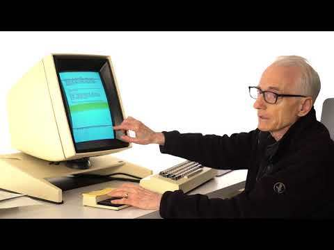 """Video Ethnography of """"Gypsy"""" on Xerox Alto with Larry Tesler: Demonstration of Cut, Copy, and Paste"""