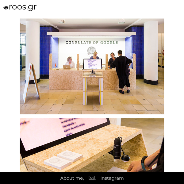 The Consulate of Google - Roos Groothuizen