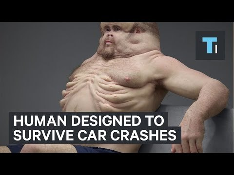 "The Transport Accident Commission (TAC) created ""Graham,"" a lifelike sculpture that shows what humans would look like if we were designed to survive car crashes. The project aims to show how susceptible humans are to car accidents and to underscore the need to improve safety on roads."