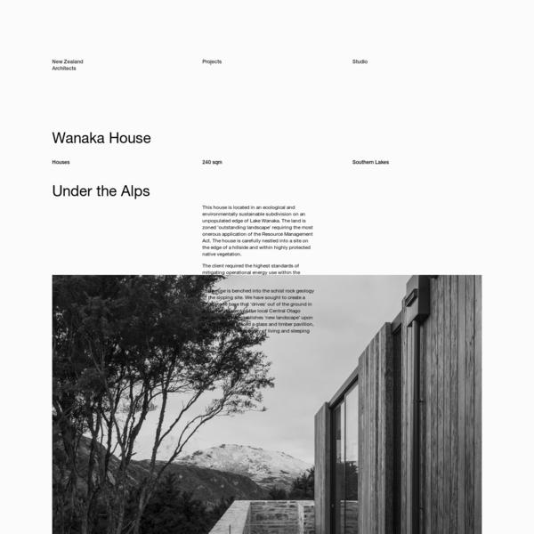 Wanaka House   RTA Studio