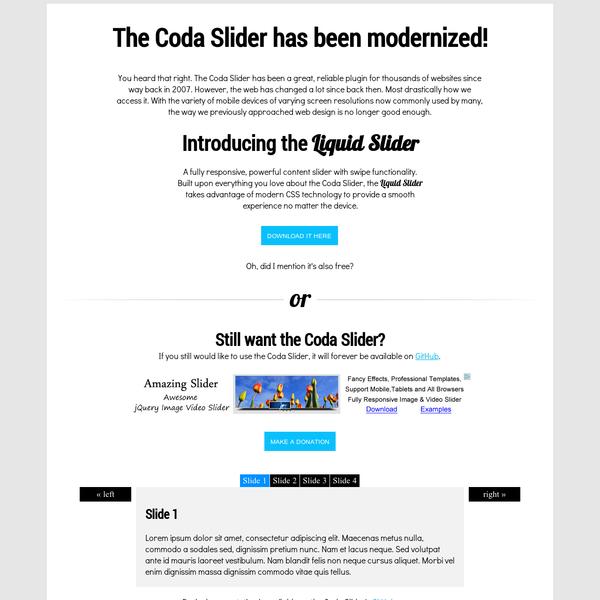 JavaScript Carousels
