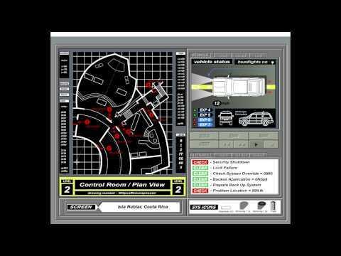 Jurassic Park Computer System