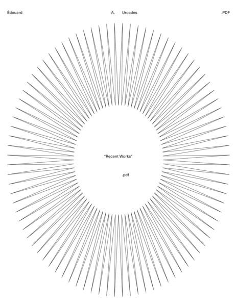 edouard.us:RecentWorks-2.pdf