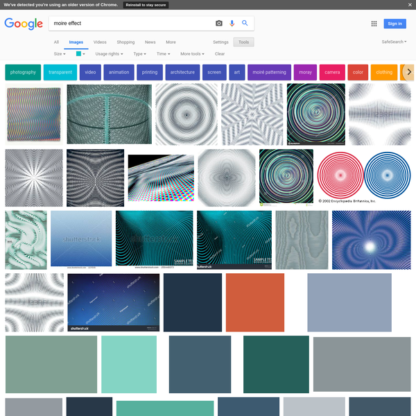 moire effect - Google Search