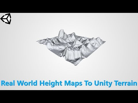Unity 5 - Adding Real World Height Maps To Your Game