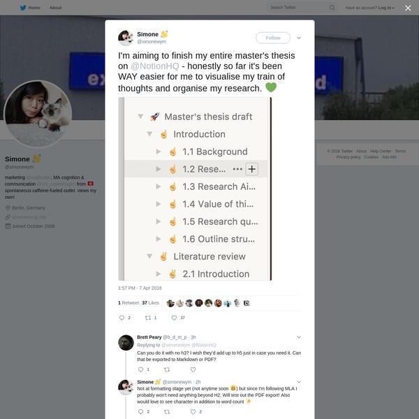 Simone 👋 on Twitter