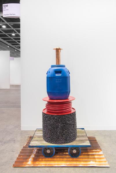 2018.03 Charles Harlan: Art Basel Hong Kong, Hong Kong Pushcart, 2018