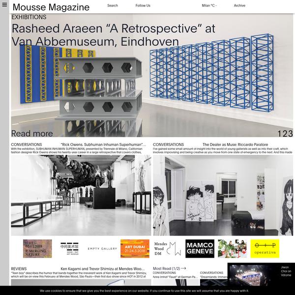 Mousse Magazine