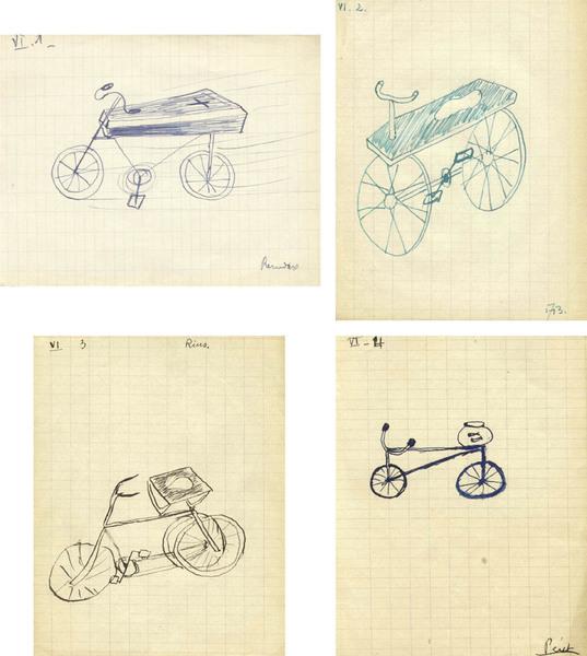 Remedios Varo, Andre Breton, Robert Rius, Benjamin Peret