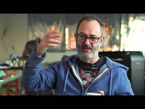 Studio Visit with Douglas Gordon