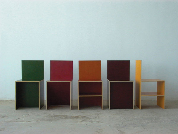 Donald Judd, Chairs, 1984–85