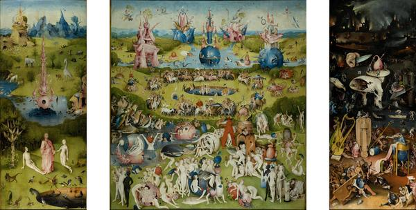 Hieronymus Bosch The Garden of Earthly Delights c. 1490-1510
