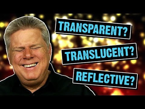 """Tommy responds to the popular question, """"how does a blind person imagine things that are transparent, translucent, and reflective?"""" First, he explains what whether or not he understands those concepts, what he thinks share those properties, and reacts to a list of things that may have those characteristics. Buy our new merch!"""