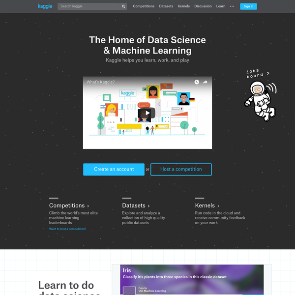 Kaggle: Your Home for Data Science