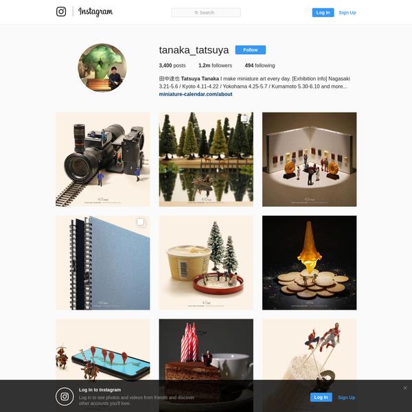 田中達也 Tatsuya Tanaka (@tanaka_tatsuya) * Instagram photos and videos