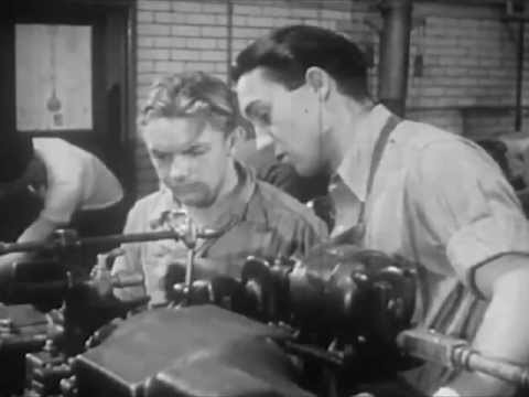 1940s Vocational Guidance Film: The Machinist and Tool Maker - 1942 - CharlieDeanArchives