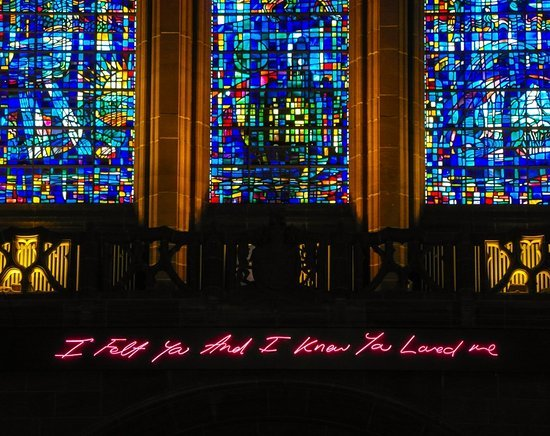 Tracey Emin, Liverpool Cathedral