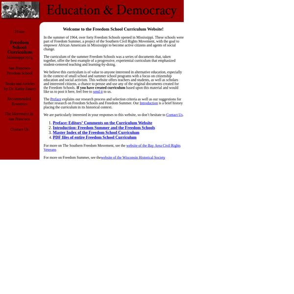 Freedom School Curriculum