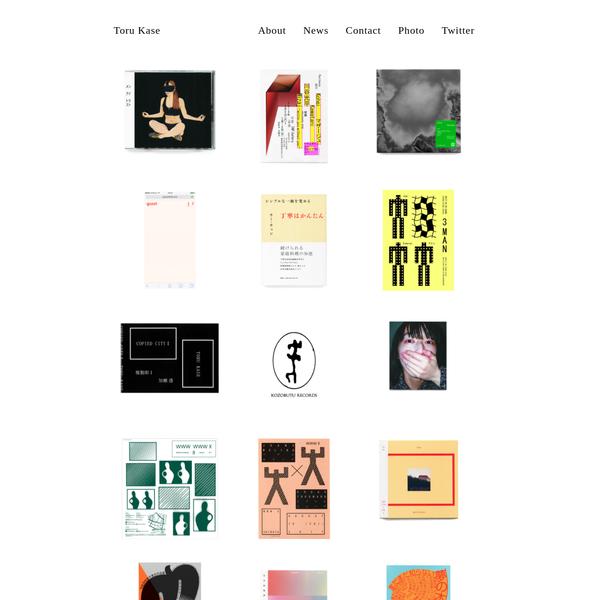 Toru Kase / 加瀬 透 Graphic Design / Art Direction