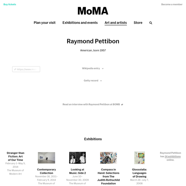 Raymond Pettibon | MoMA