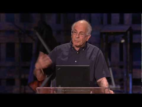 """http://www.ted.com Using examples from vacations to colonoscopies, Nobel laureate and founder of behavioral economics Daniel Kahneman reveals how our """"experiencing selves"""" and our """"remembering selves"""" perceive happiness differently. This new insight has profound implications for economics, public policy -- and our own self-awareness."""