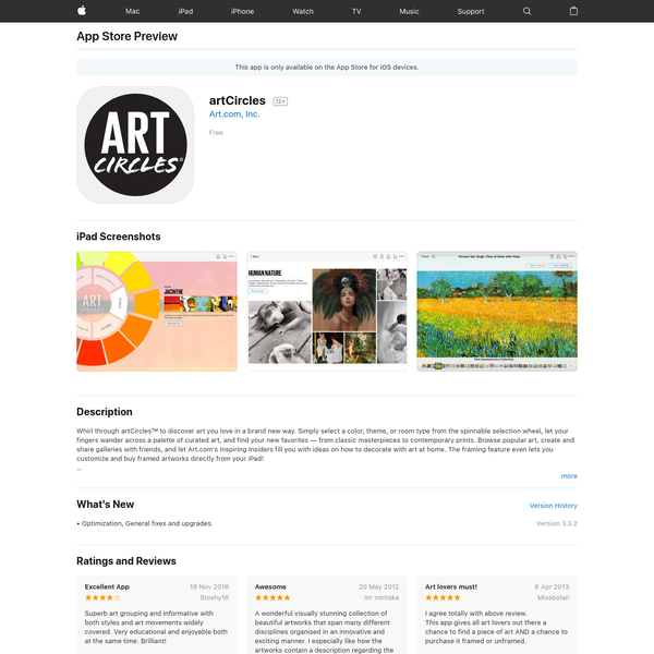 artCircles on the App Store