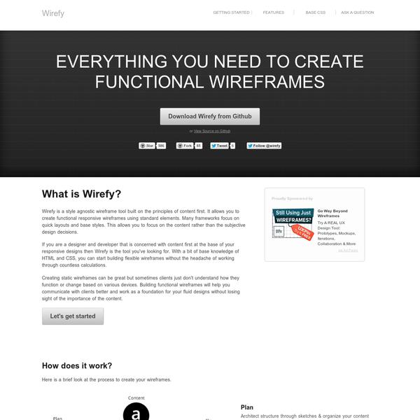 Interface Design Tooling