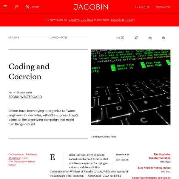 Coding and Coercion