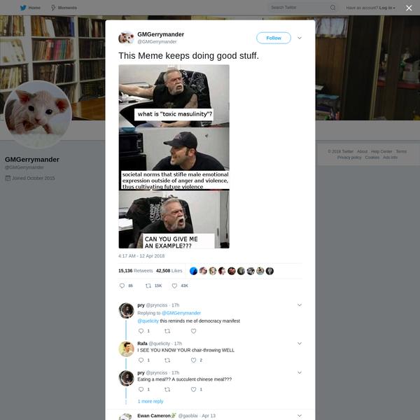 GMGerrymander on Twitter