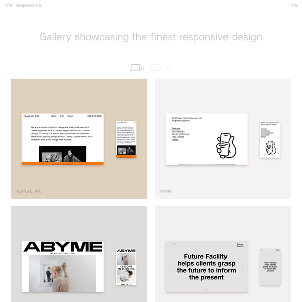 Web Design Inspiration | Gallery showcasing the best responsive design | Online showroom curating the best dynamic web user interfaces | Flexible UI and UX | Digital design | Best design | User interfaces | Desktop Mobile Form | Best responsive design | Online | The Responsive